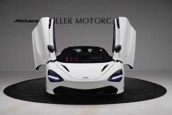New 2021 McLaren 720S Spider for sale $366,670 at Bugatti of Greenwich in Greenwich CT 06830 11