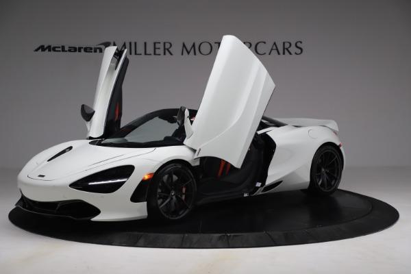 New 2021 McLaren 720S Spider for sale $366,670 at Bugatti of Greenwich in Greenwich CT 06830 12