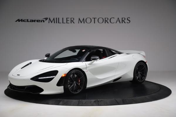New 2021 McLaren 720S Spider for sale $366,670 at Bugatti of Greenwich in Greenwich CT 06830 13