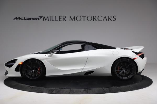New 2021 McLaren 720S Spider for sale $366,670 at Bugatti of Greenwich in Greenwich CT 06830 14