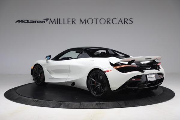 New 2021 McLaren 720S Spider for sale $366,670 at Bugatti of Greenwich in Greenwich CT 06830 15