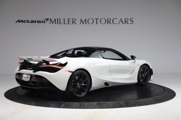 New 2021 McLaren 720S Spider for sale $366,670 at Bugatti of Greenwich in Greenwich CT 06830 17