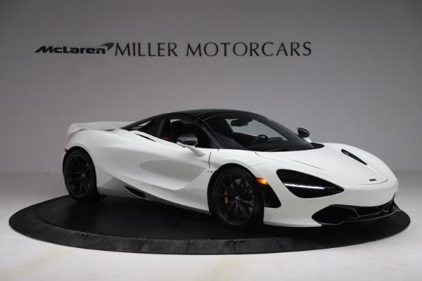 New 2021 McLaren 720S Spider for sale $366,670 at Bugatti of Greenwich in Greenwich CT 06830 19