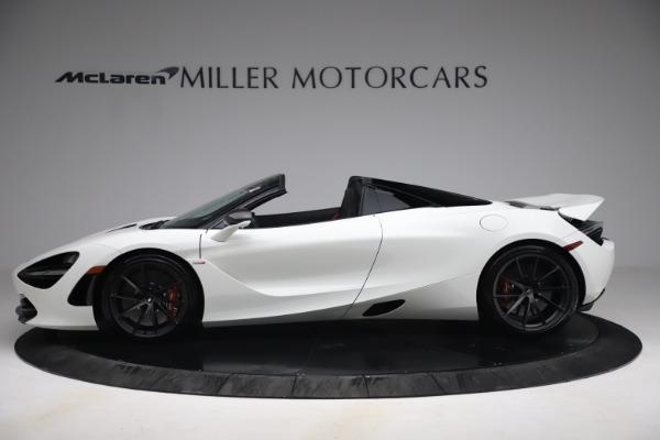 New 2021 McLaren 720S Spider for sale $366,670 at Bugatti of Greenwich in Greenwich CT 06830 2