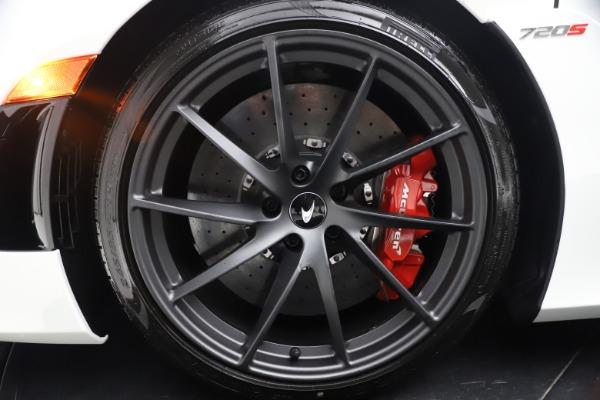 New 2021 McLaren 720S Spider for sale $366,670 at Bugatti of Greenwich in Greenwich CT 06830 21