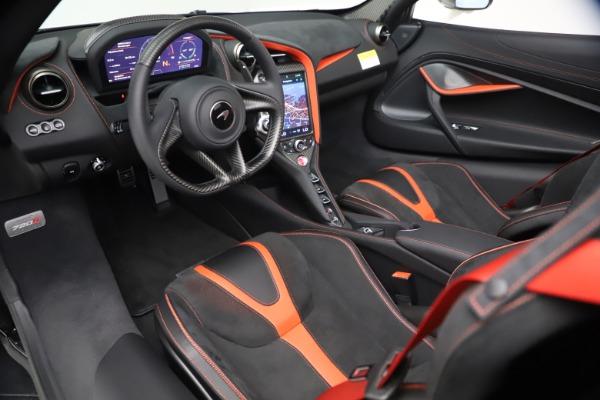 New 2021 McLaren 720S Spider for sale $366,670 at Bugatti of Greenwich in Greenwich CT 06830 22
