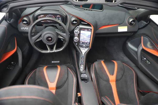 New 2021 McLaren 720S Spider for sale $366,670 at Bugatti of Greenwich in Greenwich CT 06830 25