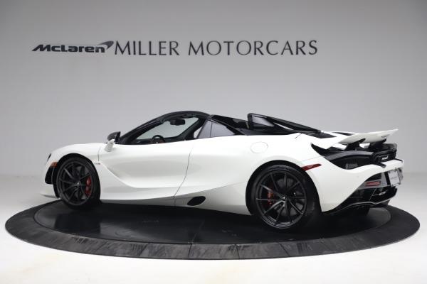 New 2021 McLaren 720S Spider for sale $366,670 at Bugatti of Greenwich in Greenwich CT 06830 3