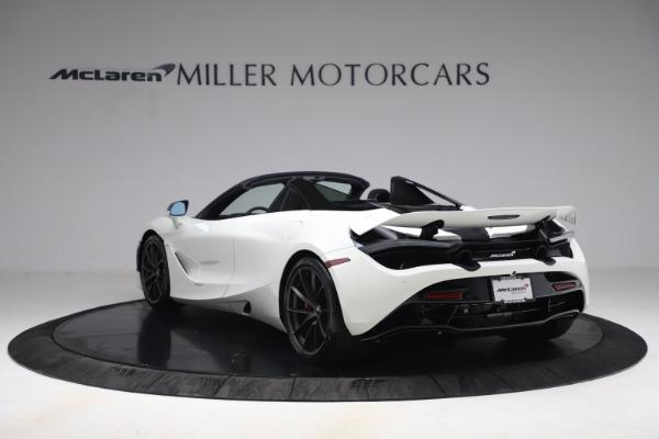 New 2021 McLaren 720S Spider for sale $366,670 at Bugatti of Greenwich in Greenwich CT 06830 4