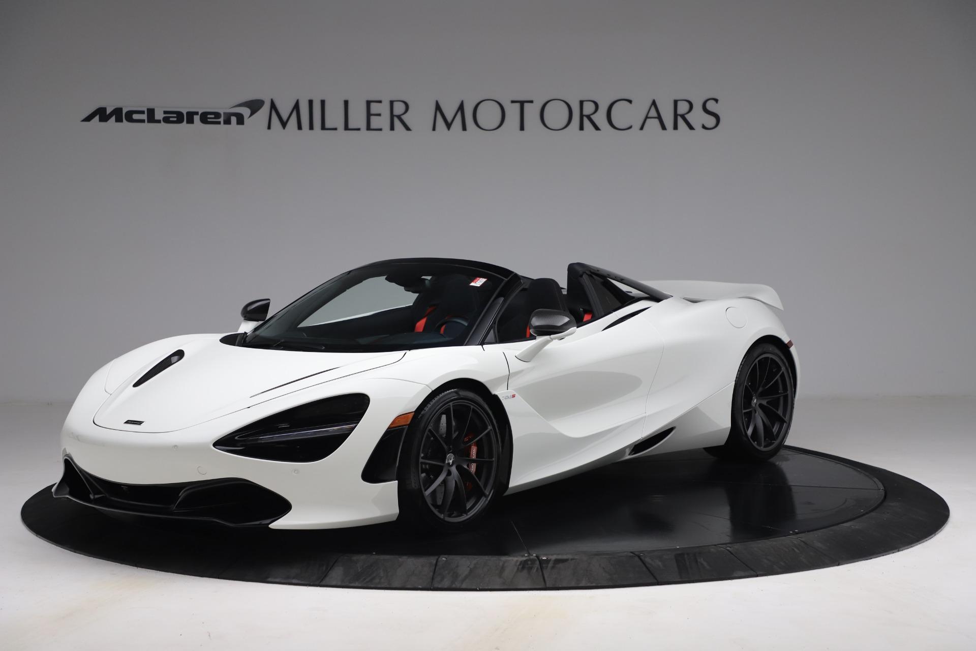 New 2021 McLaren 720S Spider for sale $366,670 at Bugatti of Greenwich in Greenwich CT 06830 1