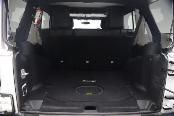 Used 2015 Jeep Wrangler Unlimited Rubicon Hard Rock for sale $39,900 at Bugatti of Greenwich in Greenwich CT 06830 23