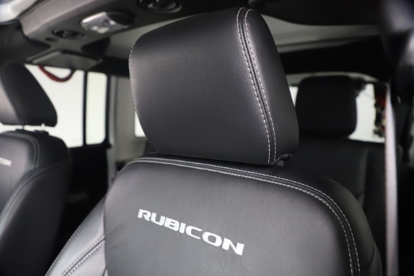 Used 2015 Jeep Wrangler Unlimited Rubicon Hard Rock for sale $39,900 at Bugatti of Greenwich in Greenwich CT 06830 26