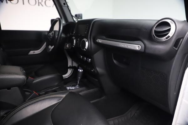 Used 2015 Jeep Wrangler Unlimited Rubicon Hard Rock for sale $39,900 at Bugatti of Greenwich in Greenwich CT 06830 27