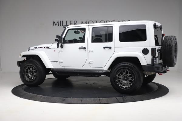 Used 2015 Jeep Wrangler Unlimited Rubicon Hard Rock for sale $39,900 at Bugatti of Greenwich in Greenwich CT 06830 4