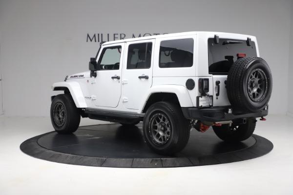 Used 2015 Jeep Wrangler Unlimited Rubicon Hard Rock for sale $39,900 at Bugatti of Greenwich in Greenwich CT 06830 5