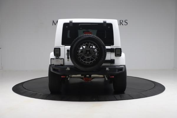 Used 2015 Jeep Wrangler Unlimited Rubicon Hard Rock for sale $39,900 at Bugatti of Greenwich in Greenwich CT 06830 6