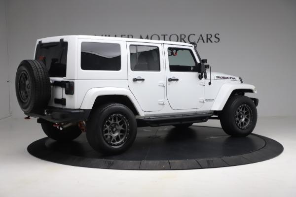Used 2015 Jeep Wrangler Unlimited Rubicon Hard Rock for sale $39,900 at Bugatti of Greenwich in Greenwich CT 06830 8