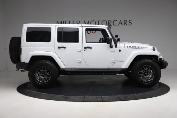 Used 2015 Jeep Wrangler Unlimited Rubicon Hard Rock for sale $39,900 at Bugatti of Greenwich in Greenwich CT 06830 9