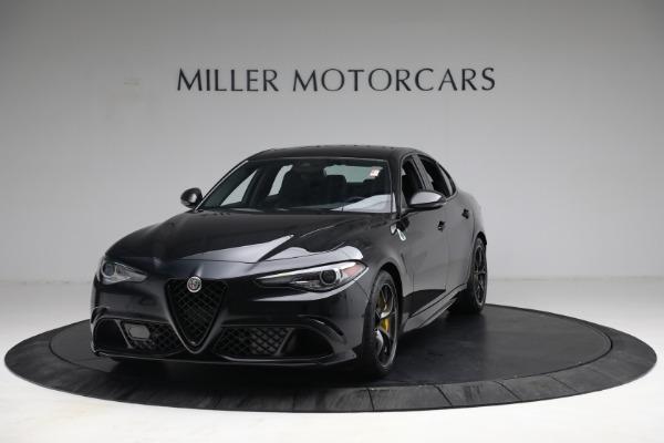New 2021 Alfa Romeo Giulia Quadrifoglio for sale $81,505 at Bugatti of Greenwich in Greenwich CT 06830 1