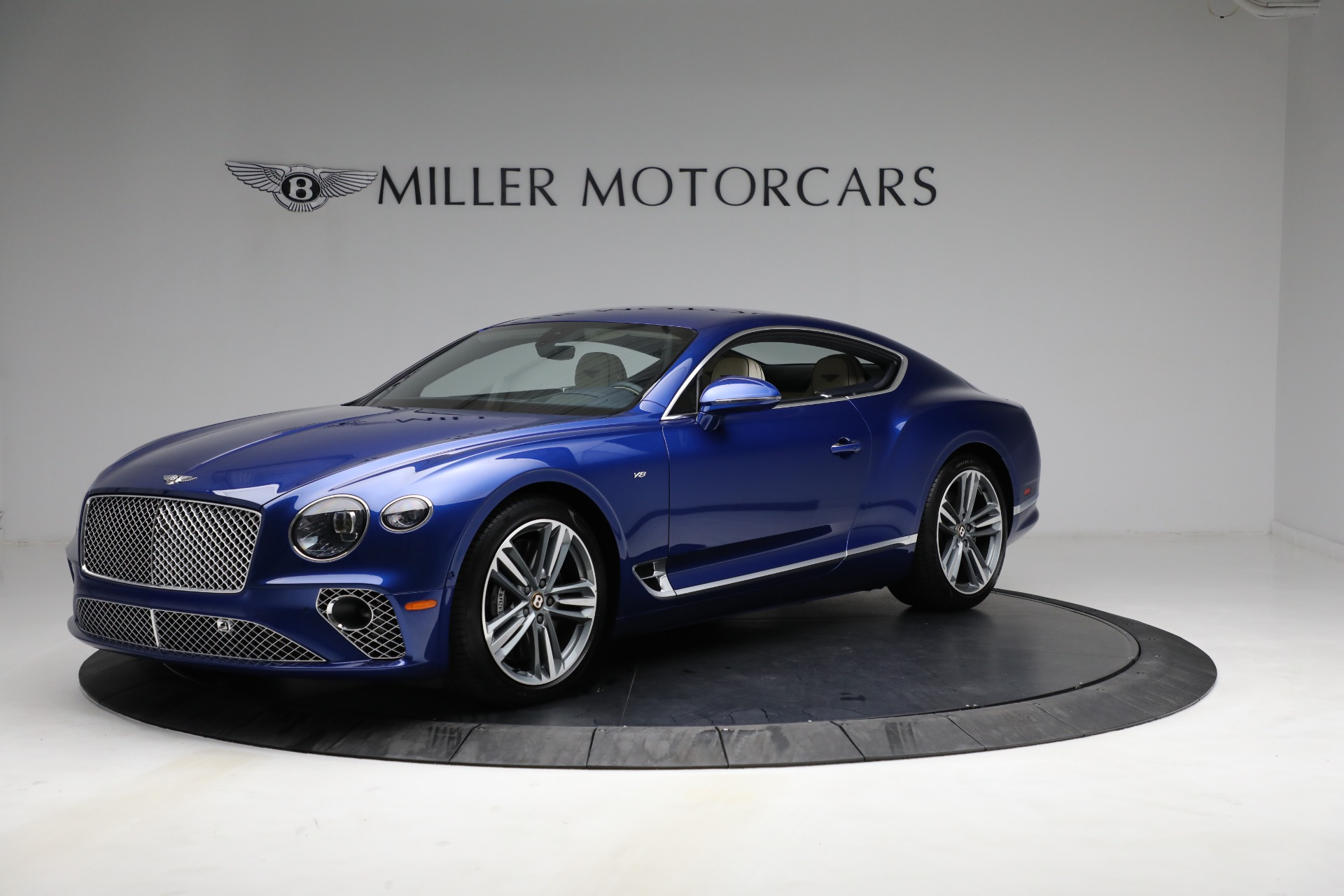 New 2020 Bentley Continental GT V8 for sale $255,080 at Bugatti of Greenwich in Greenwich CT 06830 1