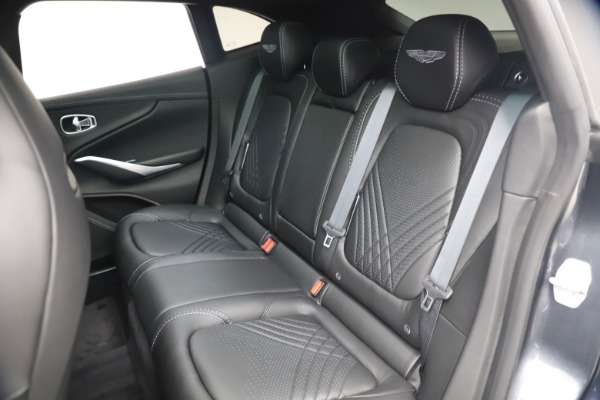 New 2021 Aston Martin DBX for sale $208,786 at Bugatti of Greenwich in Greenwich CT 06830 18