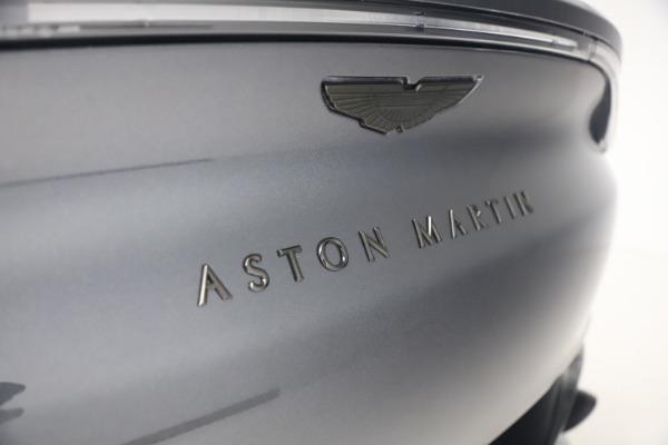 New 2021 Aston Martin DBX for sale $208,786 at Bugatti of Greenwich in Greenwich CT 06830 22