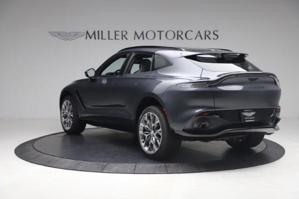 New 2021 Aston Martin DBX for sale $208,786 at Bugatti of Greenwich in Greenwich CT 06830 4