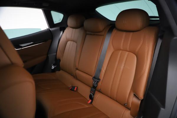 New 2021 Maserati Levante GranSport for sale $73,900 at Bugatti of Greenwich in Greenwich CT 06830 19