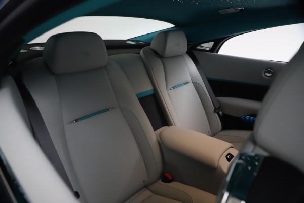 Used 2021 Rolls-Royce Wraith KRYPTOS for sale $444,275 at Bugatti of Greenwich in Greenwich CT 06830 18