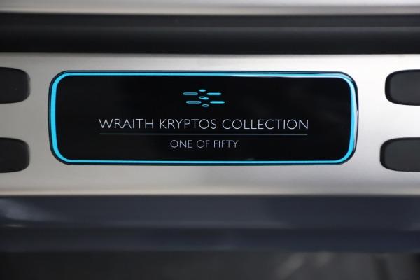 Used 2021 Rolls-Royce Wraith KRYPTOS for sale $444,275 at Bugatti of Greenwich in Greenwich CT 06830 22