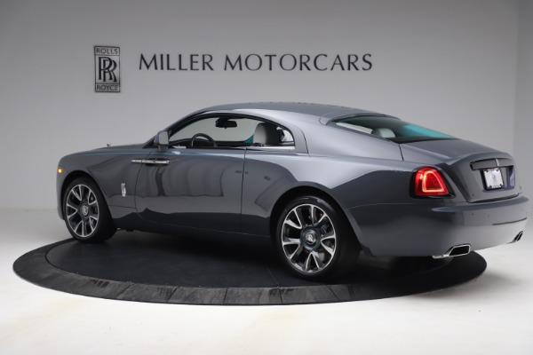 Used 2021 Rolls-Royce Wraith KRYPTOS for sale $444,275 at Bugatti of Greenwich in Greenwich CT 06830 5