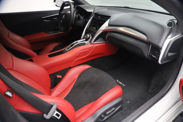 Used 2017 Acura NSX SH-AWD Sport Hybrid for sale $139,900 at Bugatti of Greenwich in Greenwich CT 06830 18