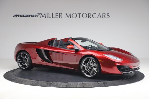 Used 2013 McLaren MP4-12C Spider for sale $134,900 at Bugatti of Greenwich in Greenwich CT 06830 10