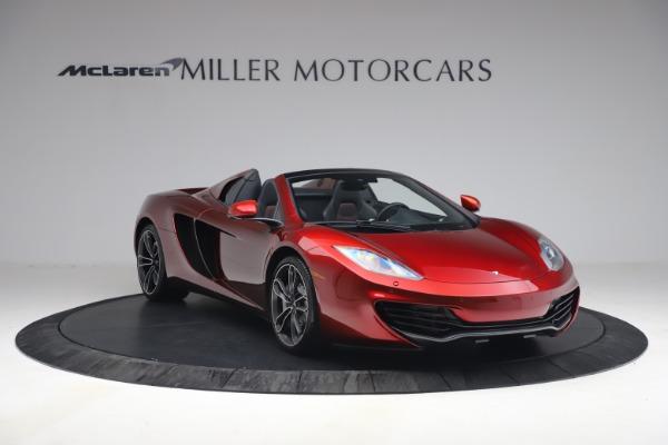 Used 2013 McLaren MP4-12C Spider for sale $134,900 at Bugatti of Greenwich in Greenwich CT 06830 11