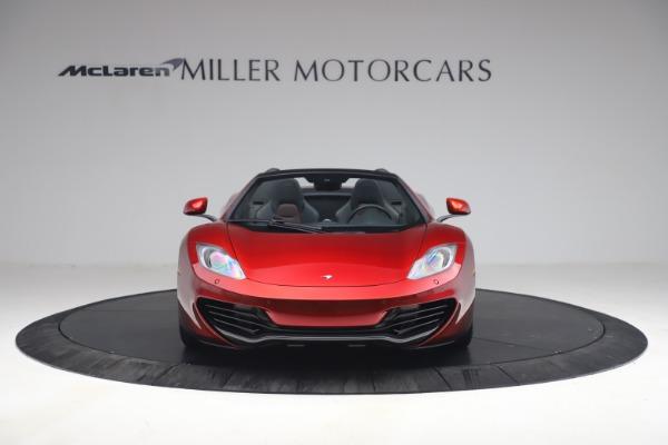 Used 2013 McLaren MP4-12C Spider for sale $134,900 at Bugatti of Greenwich in Greenwich CT 06830 12