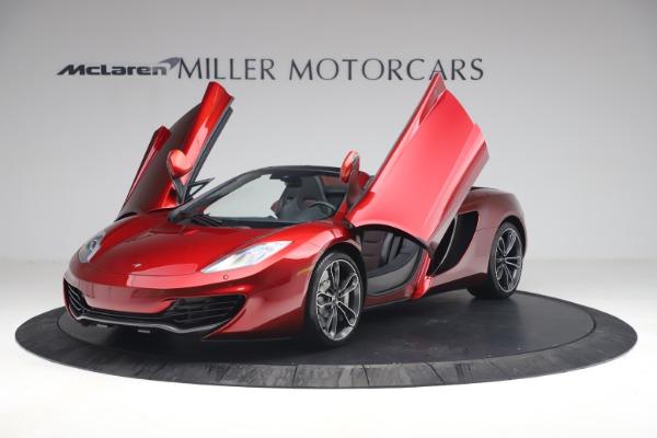 Used 2013 McLaren MP4-12C Spider for sale $134,900 at Bugatti of Greenwich in Greenwich CT 06830 14