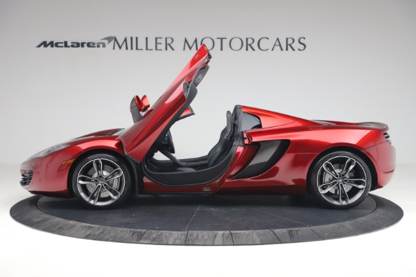 Used 2013 McLaren MP4-12C Spider for sale $134,900 at Bugatti of Greenwich in Greenwich CT 06830 15