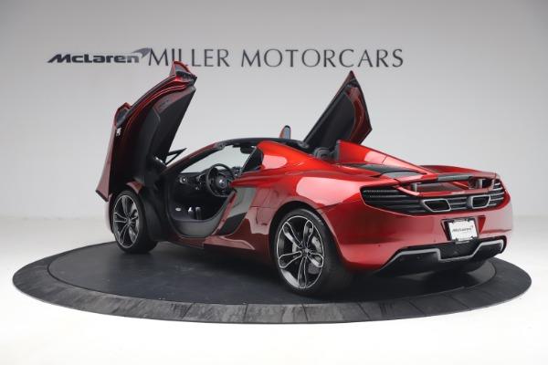 Used 2013 McLaren MP4-12C Spider for sale $134,900 at Bugatti of Greenwich in Greenwich CT 06830 16