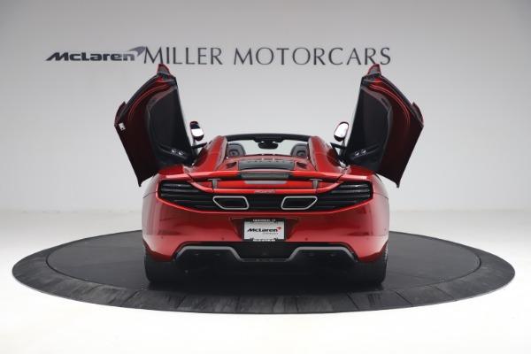 Used 2013 McLaren MP4-12C Spider for sale $134,900 at Bugatti of Greenwich in Greenwich CT 06830 17