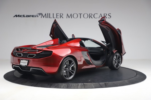 Used 2013 McLaren MP4-12C Spider for sale $134,900 at Bugatti of Greenwich in Greenwich CT 06830 18