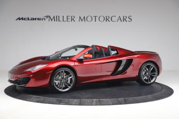 Used 2013 McLaren MP4-12C Spider for sale $134,900 at Bugatti of Greenwich in Greenwich CT 06830 2