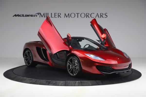 Used 2013 McLaren MP4-12C Spider for sale $134,900 at Bugatti of Greenwich in Greenwich CT 06830 20