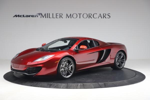 Used 2013 McLaren MP4-12C Spider for sale $134,900 at Bugatti of Greenwich in Greenwich CT 06830 23