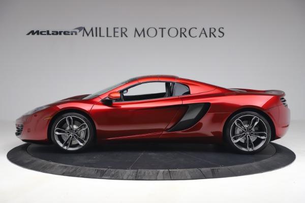 Used 2013 McLaren MP4-12C Spider for sale $134,900 at Bugatti of Greenwich in Greenwich CT 06830 24