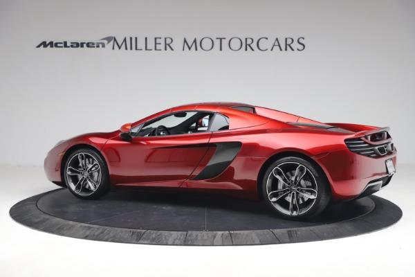 Used 2013 McLaren MP4-12C Spider for sale $134,900 at Bugatti of Greenwich in Greenwich CT 06830 25