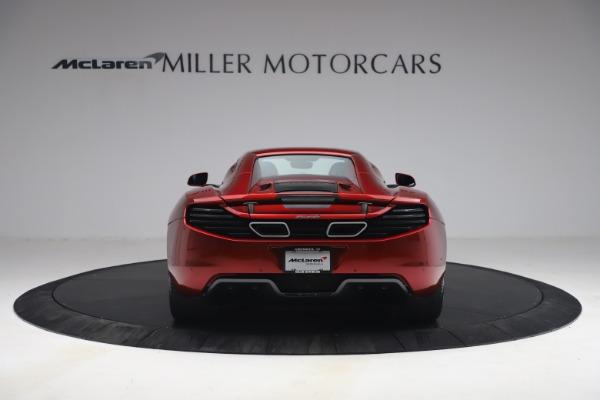 Used 2013 McLaren MP4-12C Spider for sale $134,900 at Bugatti of Greenwich in Greenwich CT 06830 27