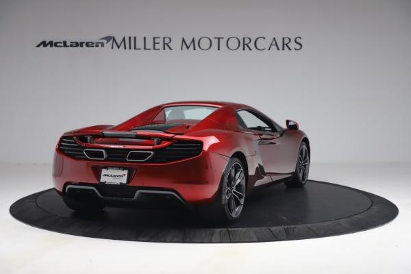 Used 2013 McLaren MP4-12C Spider for sale $134,900 at Bugatti of Greenwich in Greenwich CT 06830 28
