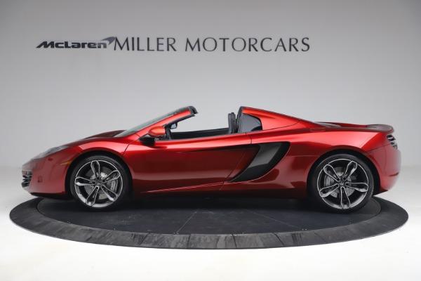 Used 2013 McLaren MP4-12C Spider for sale $134,900 at Bugatti of Greenwich in Greenwich CT 06830 3
