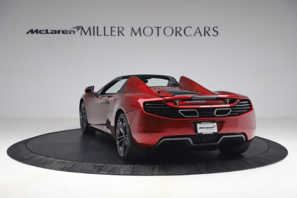 Used 2013 McLaren MP4-12C Spider for sale $134,900 at Bugatti of Greenwich in Greenwich CT 06830 5