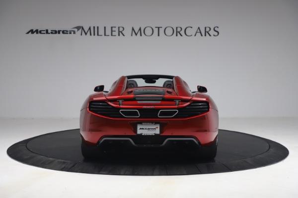 Used 2013 McLaren MP4-12C Spider for sale $134,900 at Bugatti of Greenwich in Greenwich CT 06830 6